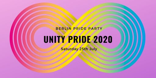 UNITY Pride 2020 • CSD Party Berlin Pride • July 25th 2020