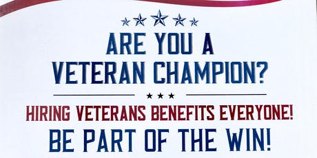 """Veteran-Ready"" Employer Introduction tickets"