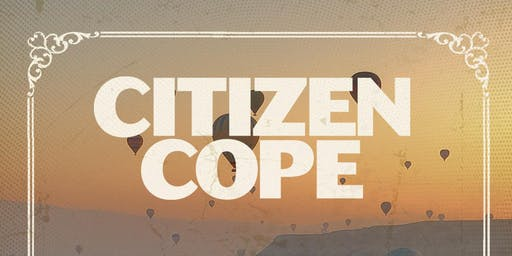 Citizen Cope at The Wellmont Theater (December 28, 2019)
