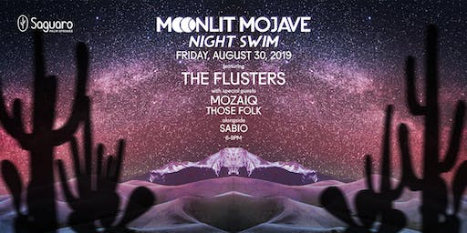 "The Saguaro Palm Springs presents ""Moonlit Mojave"" Night Swim"