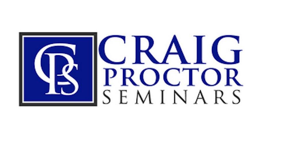 Craig Proctor Seminar - Carlsbad Tickets, Wed, Oct 2, 2019 at 9:30