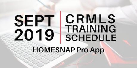 Homesnap Pro App - Central tickets