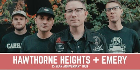 Hawthorne Heights & Emery at Full Circle Brewing Co. tickets
