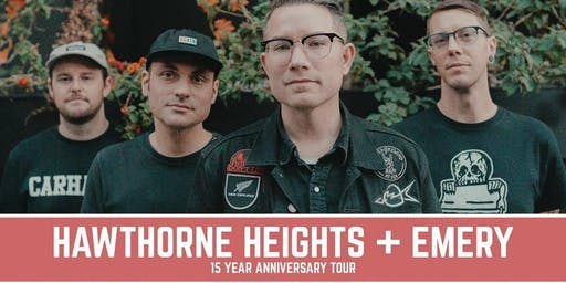Hawthorne Heights & Emery at Full Circle Brewing Co.