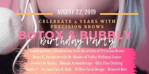 Botox & Bubbly Birthday Party
