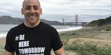 """Kevin Hines- Survivor, Storyteller, Filmmaker """"Suicide Prevention/Awareness Event"""" tickets"""