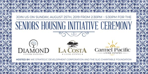 Seniors Housing Initiative Ceremony