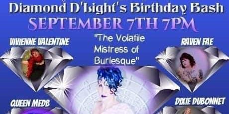 Diamond D'Light's Burlesque Birthday Bash: All the D's & B's