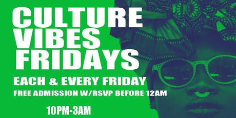 CULTURE VIBES tickets