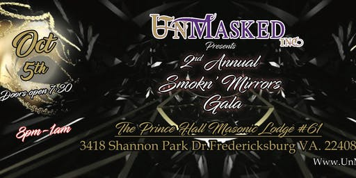 UnMasked 2nd Annual Smokn' Mirrors  Gala 2019