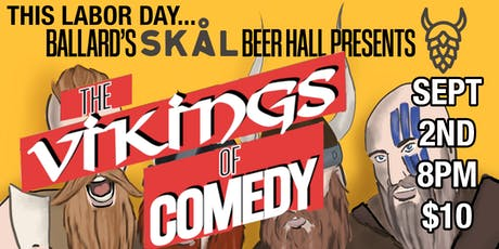 The Original Vikings of Comedy Show tickets