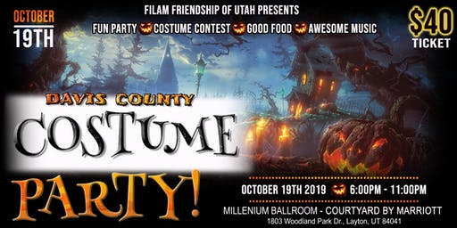 Davis County Halloween Costume Party 2019