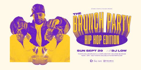 The Brunch Party: Hip Hop Edition tickets