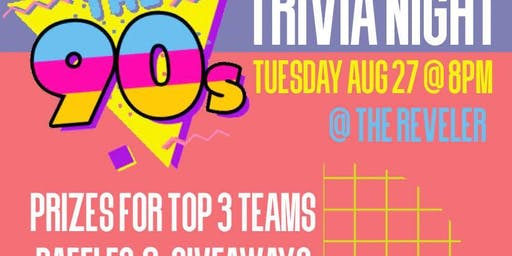 Themed Trivia: Stuck in the 90's