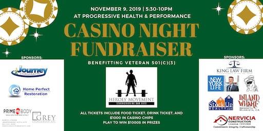 Heroes' Movement Casino Night