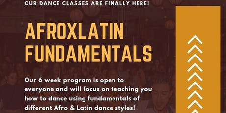 AfroxLatin Fundamentals (La Connexional Dance Classes) tickets