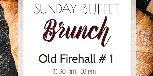 Sunday Buffet Brunch with Live Music