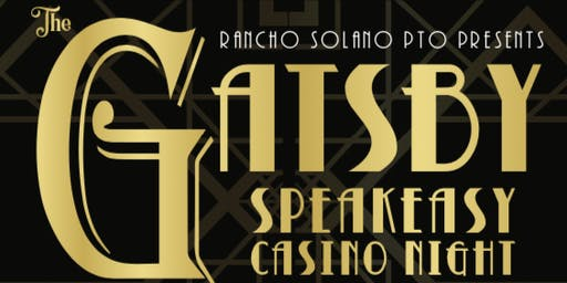 Great Gatsby Speakeasy Casino Night