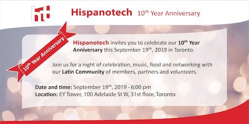 Hispanotech 10th Anniversary Celebration
