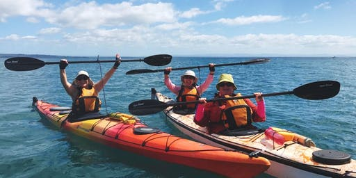 Women's Easy Sea Kayaking: Saturday 18th January