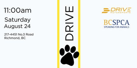 Dream & Drive for Paws tickets