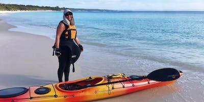 Women's Easy Sea Kayaking: Sunday 9th February