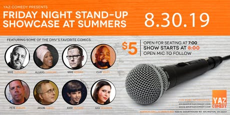 Friday Night Stand-Up Comedy Showcase tickets