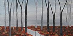 "CANVAS CLASS: ""Reflections of Fall"" Adult Paint & Sip"