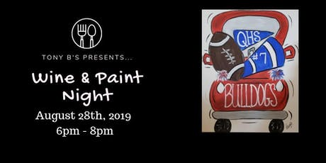 Football Spirit Wine & Paint Night tickets