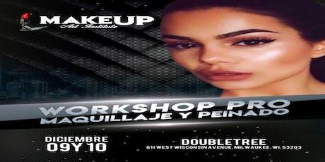 Workshop pro, Maquillaje y peinado Milwaukee wi  tickets