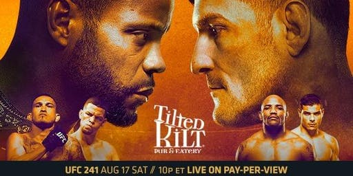 UFC 241 Watch Party! Cormier vs Miocic 2!