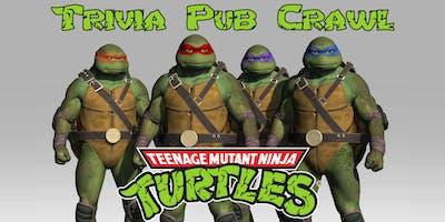 Teenage Mutant Ninja Turtles Trivia Pub Crawl - Downtown Houston - Jan 25th