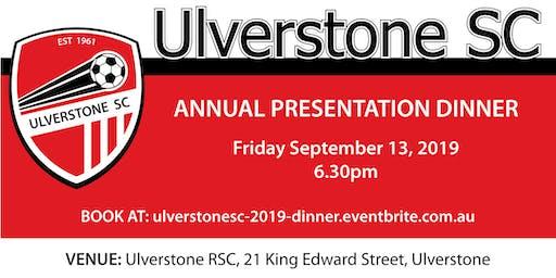 USC Presentation Dinner 2019