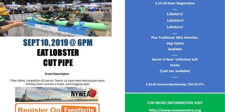 NYWEA Metro Chapter Presents: Eat Lobster, Cut Pipe! tickets