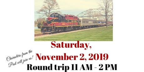 Cranberry Harvest Scenic Train Ride tickets