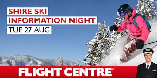 Flight Centre Ski Information Night