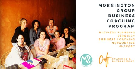 MP Kickass Collective/Craft Coaching and Development Business Coaching Program - October 2019  tickets