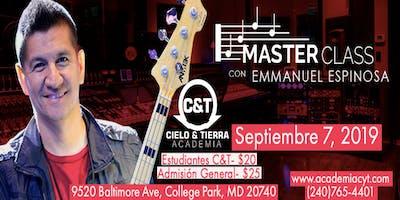 Master Class *** Emmanuel Espinosa de Rojo