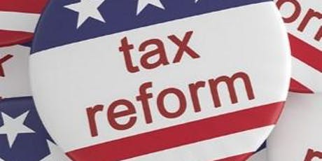 Tax Reform: 20% New Deduction for Qualified Income from Business & RE tickets