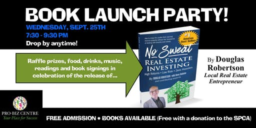 Book Launch Party for Doug Robertson