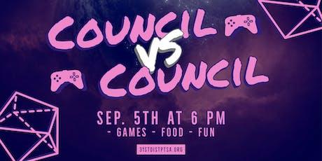 Council Versus Council tickets