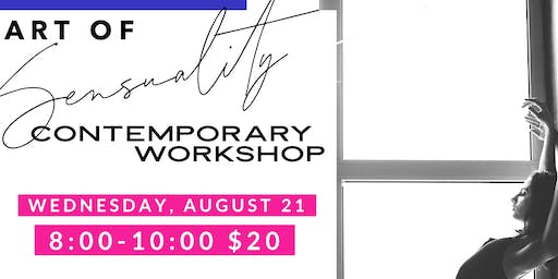 Art of Sensuality Contemporary Workshop