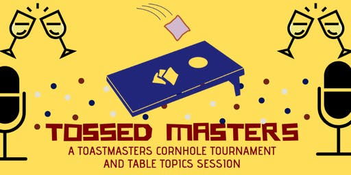 Tossed Masters - Central Club's Cornhole & Table Topics Toss Down