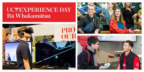 UC Experience Day Wellington tickets