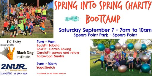 Spring into Spring Charity Boot Camp