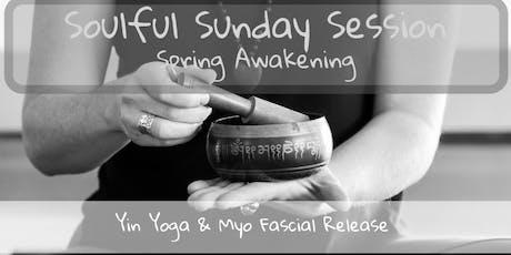 Soulful Sunday Session - Spring Awakening tickets