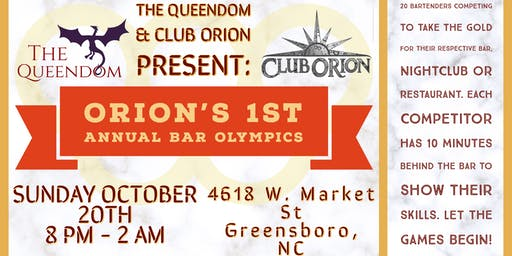 Orion's First Annual Bar Olympics [Bartender Compe
