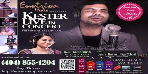 Kester Live Concert in Atlanta