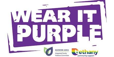 Wear It Purple Day 2019 tickets