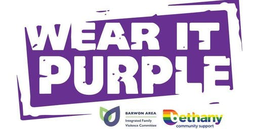 Wear It Purple Day 2019